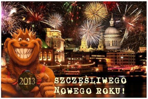 Szczęśliwego Nowego 2013 Roku!