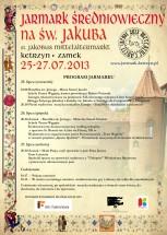 VIII Jarmark Średniowieczny na św. Jakuba
