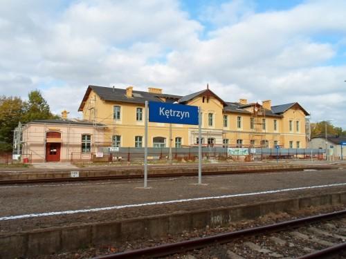 Dworzec PKP w Kętrzynie