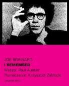 I remember – Joe Brainard