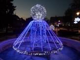 Plac Piłsudskiego, świąteczne iluminacje